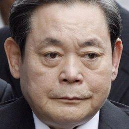 Lee Kun hee, máximo dirigente de Samsung