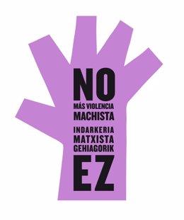 Símbolo contra la violencia machista