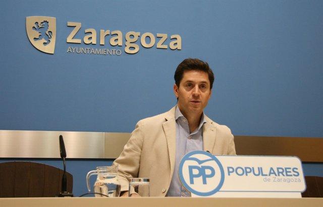 El concejal municipal del PP, Sebastián Contín.