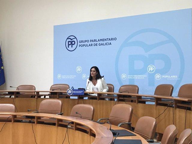 La diputada del PP Paula Prado