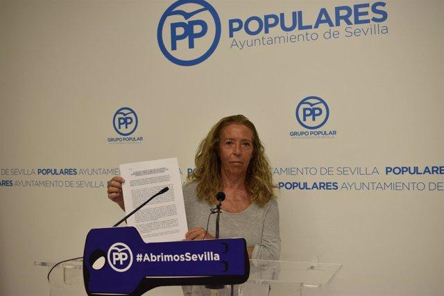 La concejal del PP en Sevilla Carmen Ríos