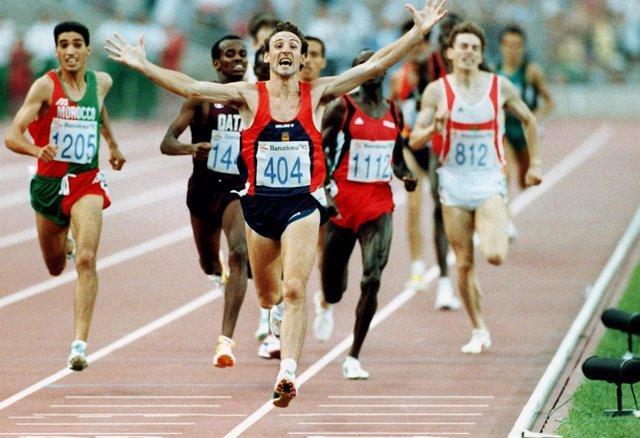 Femín Cacho, campeón olímpico 1.500 metros en Barcelona '92