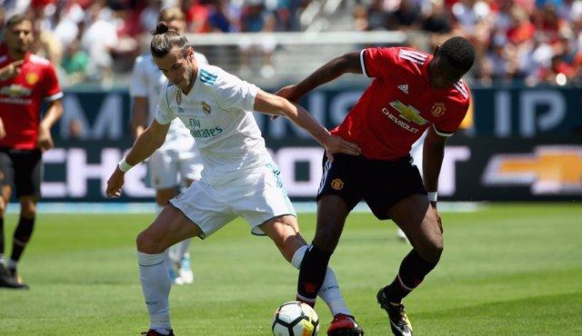 Encuentro entre el Real Madrid y el Manchester United
