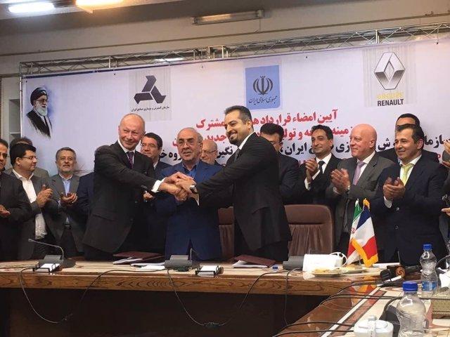 Grupo Renault acuerda una 'joint venture' en Irán