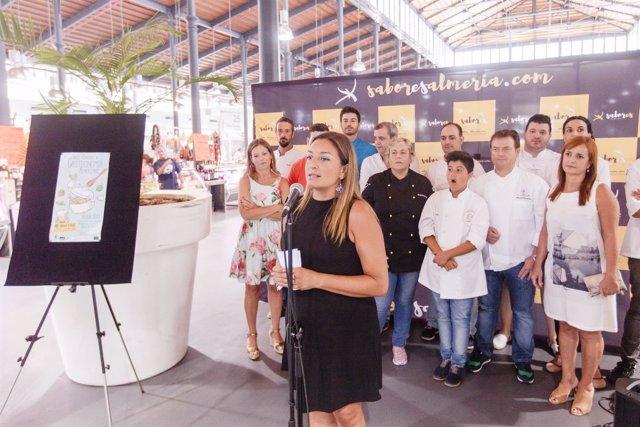 Presentación del espacio gastronómico de la Feria de Almería