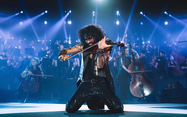 Ara Malikian en uno de sus conciertos