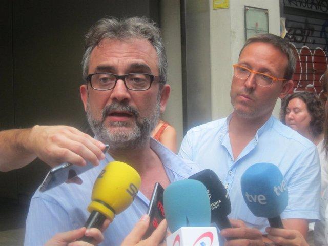 Juan Carlos Giménez, asesor del comité de huelga de Eulen