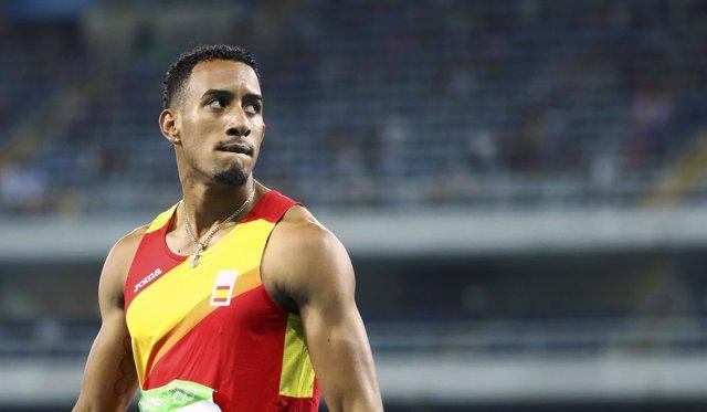 Orlando Ortega 110 metros vallas