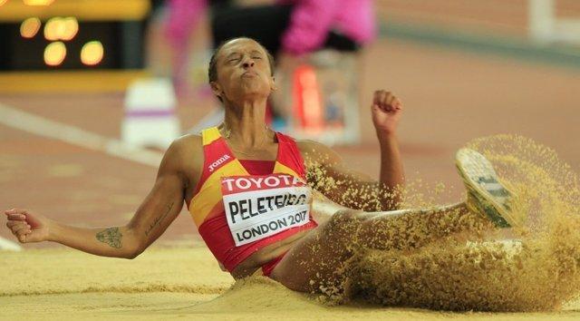 Ana Peleteiro Mundial atletismo triple salto