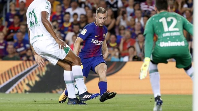 Gerard Deulofeu Gamper Barcelona Chapecoense