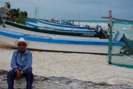 Activan la alerta roja en cinco municipios del estado mexicano de Quintana Roo ante la llegada del 'Franklin'