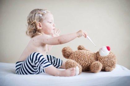 Las dos dosis recomendadas de vacunación contra el sarampión no se cumplen en todos los niños