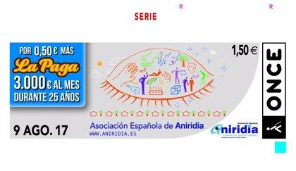 Un cupón de la ONCE para los enfermos de Aniridia