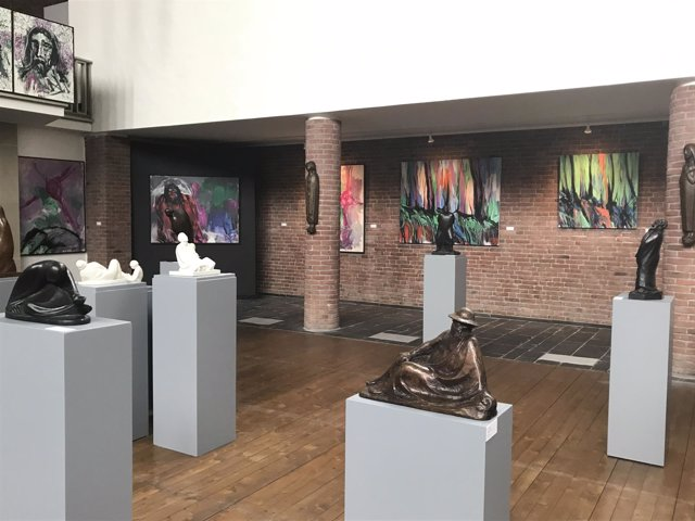 Obras jorge rando viajarán alemania reforma luterana 500 aniversario arte cultur