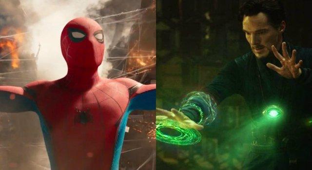Spider-Man y Doctor Strange juntos en Vengadores: Infinity War