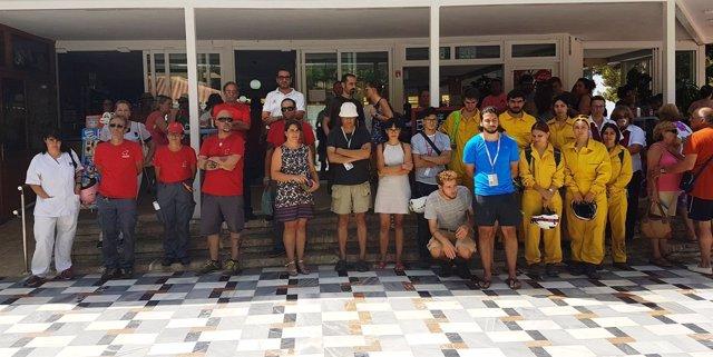 Trabajadores fundación cueva de nerja homenaje exdirectora asesinada por su pare