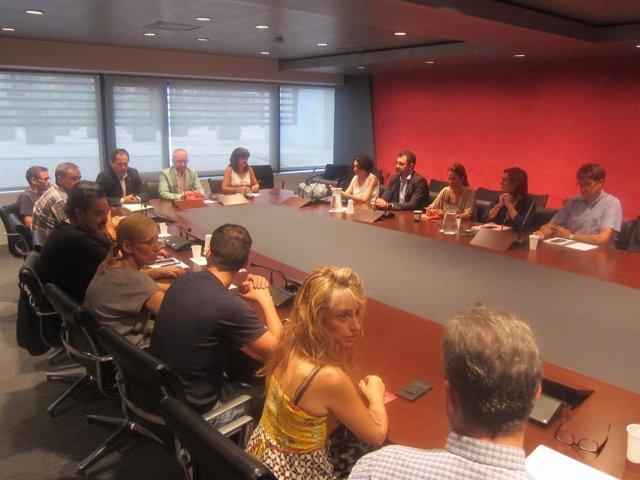Cuarta jornada de negociaciones entre Aena, Eulen y el comité de huelga