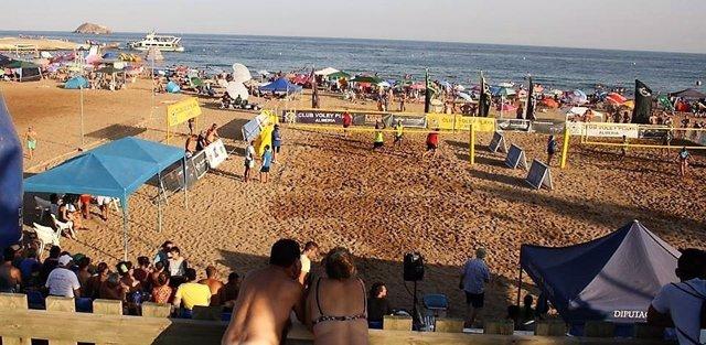 Campeonato de voley playa