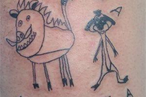 Tatuajes feos y sin calidad: el nuevo concepto de una artista brasileña se vuelve todo un éxito