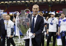Zidane conquista su sexto título como técnico madridista y se queda a uno de Vicente del Bosque