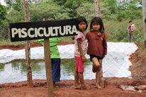 Proyecto de piscicultura en la comunidad indígena