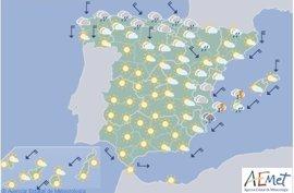Mallorca y Menorca se encuentran en riesgo por oleaje e Ibiza, también por lluvias y tormentas