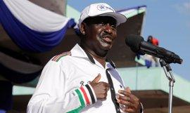 """El líder opositor keniano denuncia un fraude """"masivo"""" en las elecciones y pide la salida de Kenyatta"""