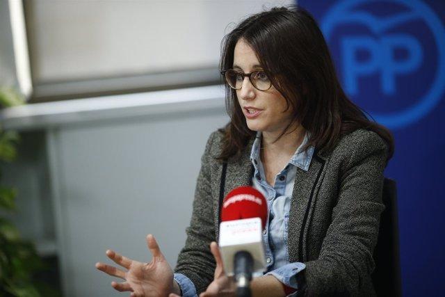 La vicesecretaria de Estudios y Programas del PP, Andrea Levy.