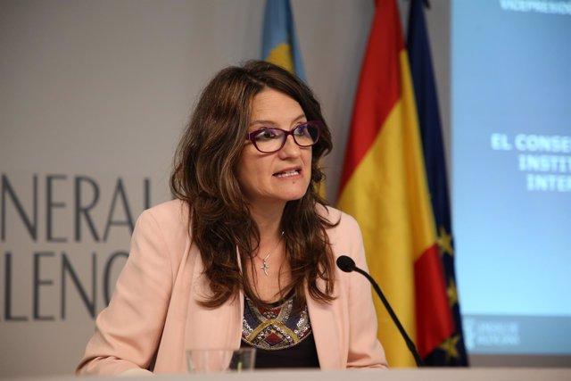 Mónica Oltra en una imagen de archivo