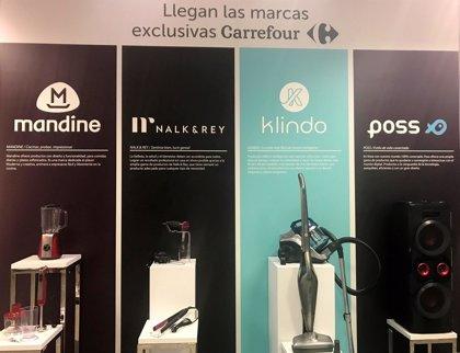 Carrefour lanza al mercado sus nuevas marcas de electrodomésticos y sonido