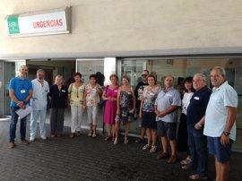 Jornada de puertas abiertas con asociaciones en el Hospital Punta de Europa de Algeciras