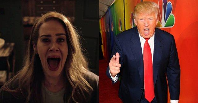AHS y Donald Trump
