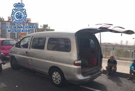 Detienen a un hombre que intentó darse a la fuga durante un control policial en Tenerife