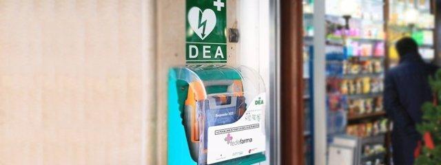 Farmacia con desfibrilador - Fedefarma