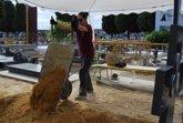 Foto: Cierran la fosa 92 del cementerio de Paterna con nueve cuerpos exhumados de víctimas del franquismo