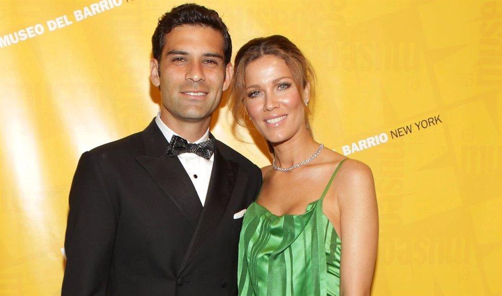 Jaydy Michel y Rafa Márquez