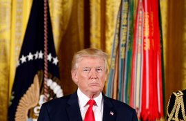 "Trump advierte a Pyongyang: ""Si atacan Estados Unidos deberán ponerse muy nerviosos"""
