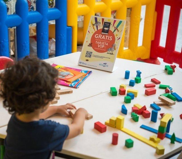 Actividades infantiles de los sábados en Bahía Sur