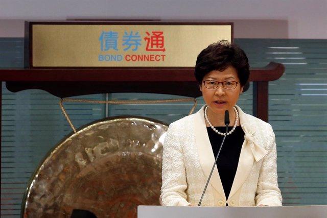 Carrie Lam, la líder de Hong Kong