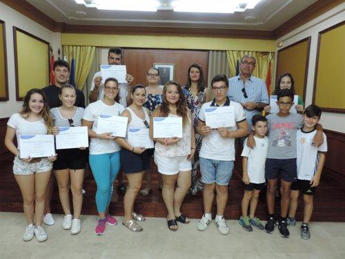 Jóvenes se forman en ocio y tiempo libre en Turre