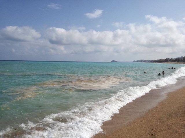 Playa en Castellón