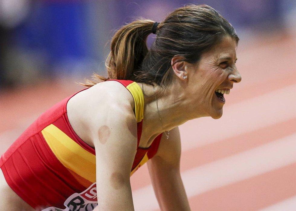 Así es Ruth Beitia, la campeona olímpica de atletismo