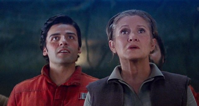 Star Wars Poe Dameron Leia