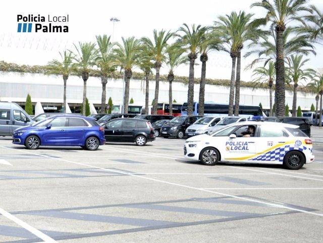Taxis pirtas interceptados por la policía en el aeropuerto