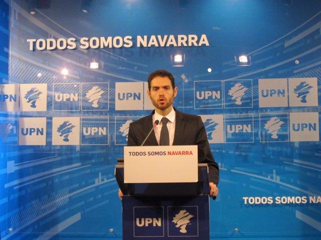 El parlamentario de UPN, Sergio Sayas