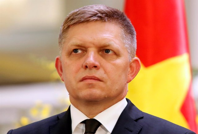 El primer ministro de Eslovaquia, Robert Fico