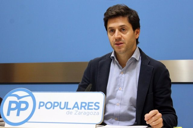 Concejal del Partido Popular en el Ayuntamiento de Zaragoza, Sebastián Contín.