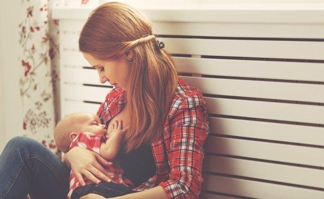 Lactancia materna, bebé, amamantar