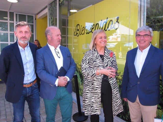 Visita De Mercedes Fernandez A La Fidma