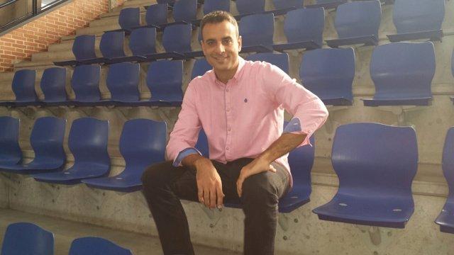 Alberto Ruiz de Galarreta, jugador del CB Clavijo